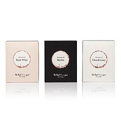 Set de tres cajas de gominolas con sabor a vino