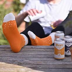 Calcetines para fans de la cerveza