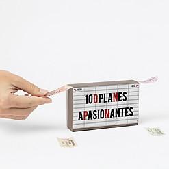 Ticketbox con 100 propuestas de planes de ocio