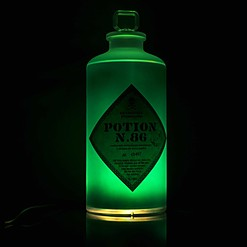 Lámpara botella de poción mágica de Harry Potter