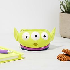 Taza en forma de marcianito de Toy Story