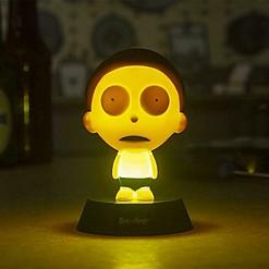 Lámpara con forma de Morty de Rick & Morty