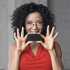 Gafas de presbicia para llevar en el smartphone