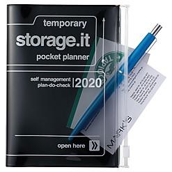 Agenda 2020 en tamaño A6 de diseño japonés