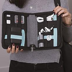Estuche de viaje para llevar tus gadgets ordenados