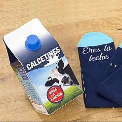 Calcetines originales ¡Eres la leche!
