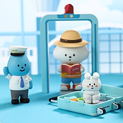 Muñecos coleccionables Mr. White Cloud serie 5 Airline