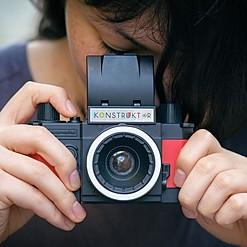 Konstruktor F: la cámara para construir uno mismo de Lomography