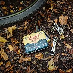 Kit de reparación para bicicletas de bolsillo