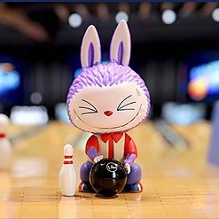 Muñecos coleccionables en caja sorpresa Labubu serie Sports