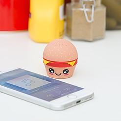 Altavoz Bluetooth con forma de hamburguesa kawaii