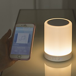 Lámpara táctil con altavoz Bluetooth