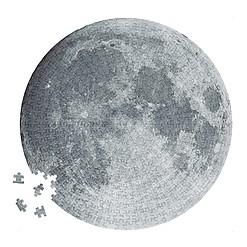 Puzzle circular de la Luna