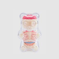 Modelo anatómico de osito de gominola pequeño