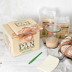 Kit para hacer pan con masa madre