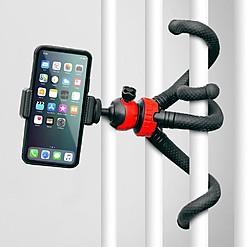 Trípode flexible para móviles y cámaras