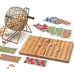 Juego de bingo en edición deluxe