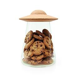 Bote para galletas con forma de OVNI