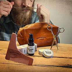 Kit para el cuidado de la barba deluxe