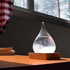 Storm Glass: el predictor del tiempo de cristal pequeño