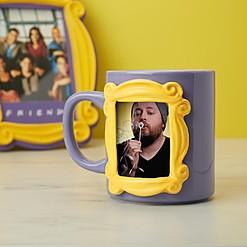 Taza de Friends con marco para poner fotos