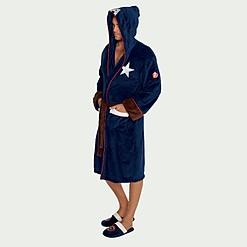 Bata de tejido polar Capitán América