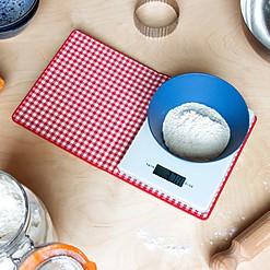 Báscula de cocina digital con forma de libro