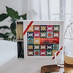 Caja de regalo con 45 bolsitas de té Kusmi