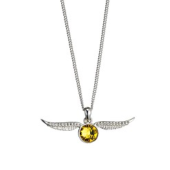 Collar de Harry Potter con Golden Snitch y cristales Swarovski