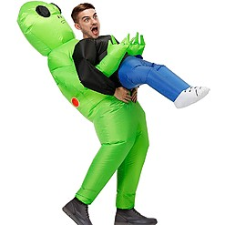 Disfraz hinchable de alien abductor