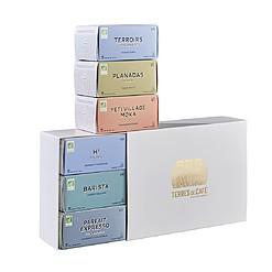 Caja de regalo con 60 cápsulas de café gourmet