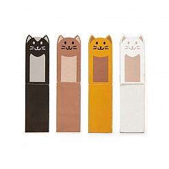 Marcapáginas magnéticos con forma de gatos