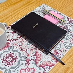 Cuaderno de 500 páginas estilo vintage