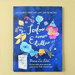 """Cuaderno creativo  """"Todos somos estrellas"""""""