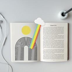 Marcapáginas arcoiris