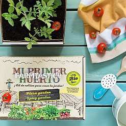 Kit de cultivo ecológico infantil: Mi Primer Huerto