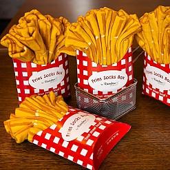 Calcetines patatas fritas