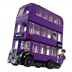 Set LEGO para construir el Autobús Noctámbulo de Harry Potter