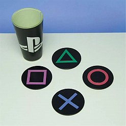 Posavasos iconos consola Playstation