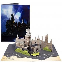 Tarjeta 3D Pop Up Castillo Hogwarts