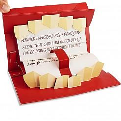 Tarjeta para grabar tu mensaje Howler de Harry Potter