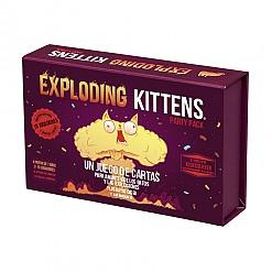 Juego de cartas Exploding Kittens Party Pack