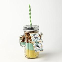 Jarra cactus con mezcla para cocktail Margarita