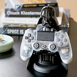 Soporte para móvil y mando de consola Darth Vader