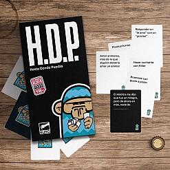 H.D.P (Hasta donde puedas) juego de cartas