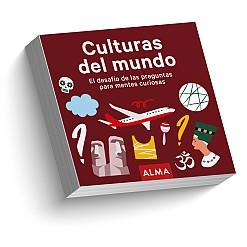 Culturas del mundo, el libro de preguntas para aprender