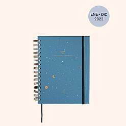 "Agenda semana vista 2022 ""Luna"""