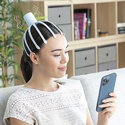 Masajeador de cabeza eléctrico recargable Helax