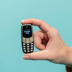 El mini teléfono móvil más pequeño del mundo
