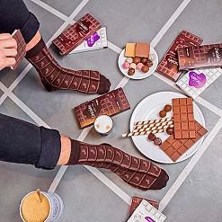 Calcetines originales tableta de chocolate
